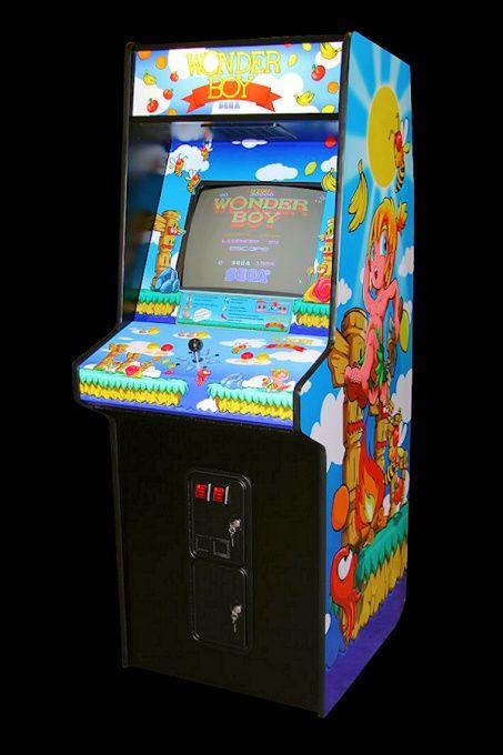 borne arcade wonder boy a vendre