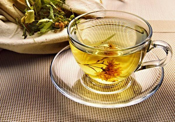 Relaxační čaj před spaním