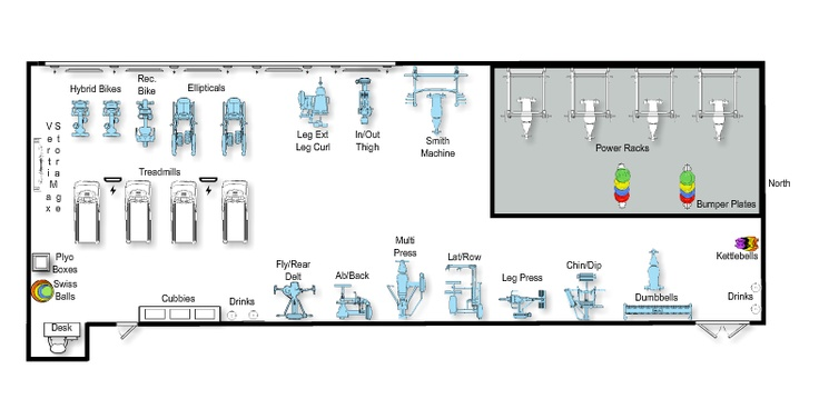 Final Layout Of New Weight Room At MidPlains CCMcCookNE - Weight room design