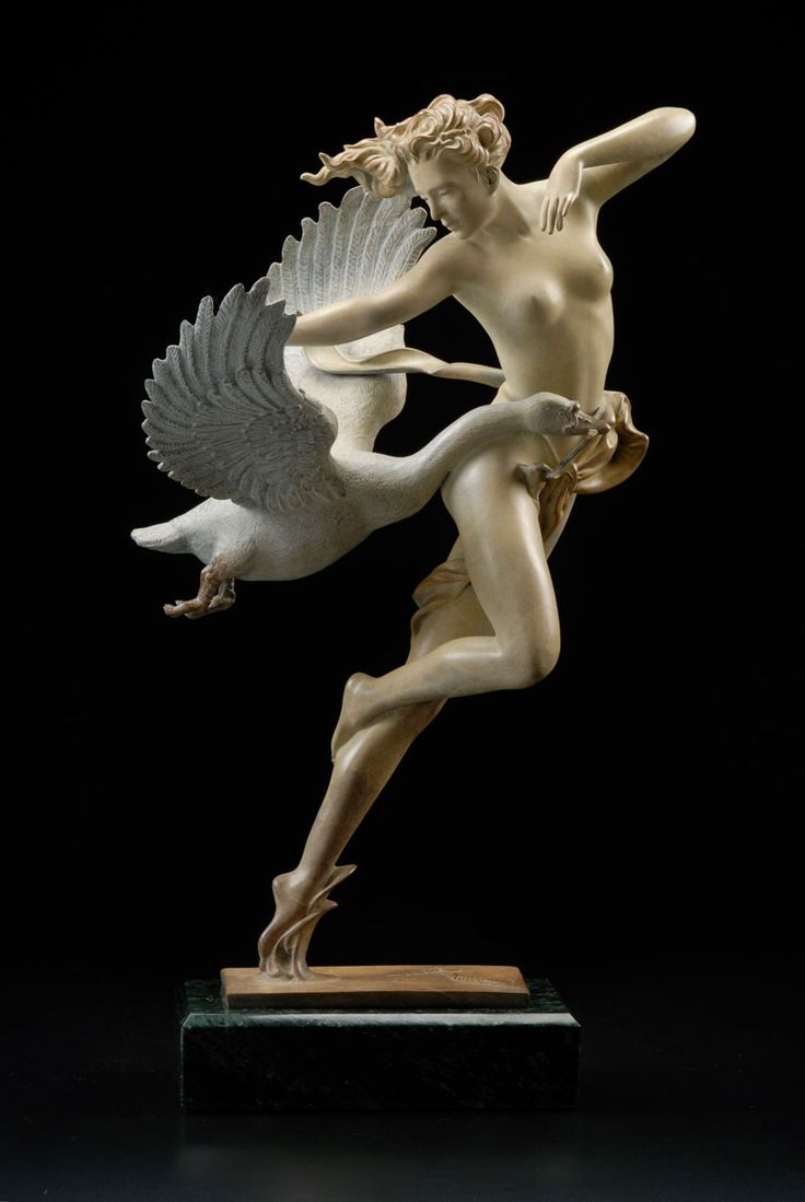 Art fairs mechanical movement metal paris russia sculptures wood - Michael Parkes Night Flight Sculptures Cast Sculpture In Bronze