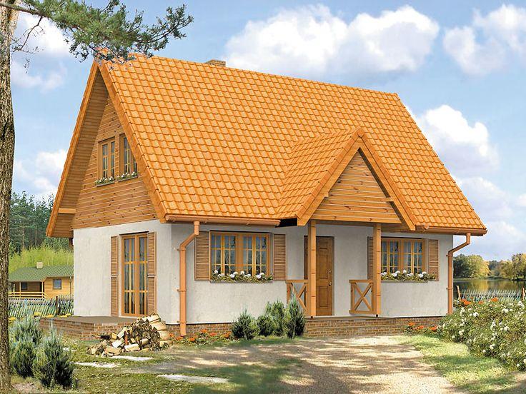 Motylek to malowniczy projekt domu letniskowego, który na 74 m2 posiada cztery sypialnie, łazienkę oraz salon z kuchnią. Pełna prezentacja projektu znajduje się na stronie.: http://www.domywstylu.pl/projekt-domu-motylek.php. #motylek #domywstylu #mtmstyl #domyrekreacyjne #domyletniskowe #projektygotowe