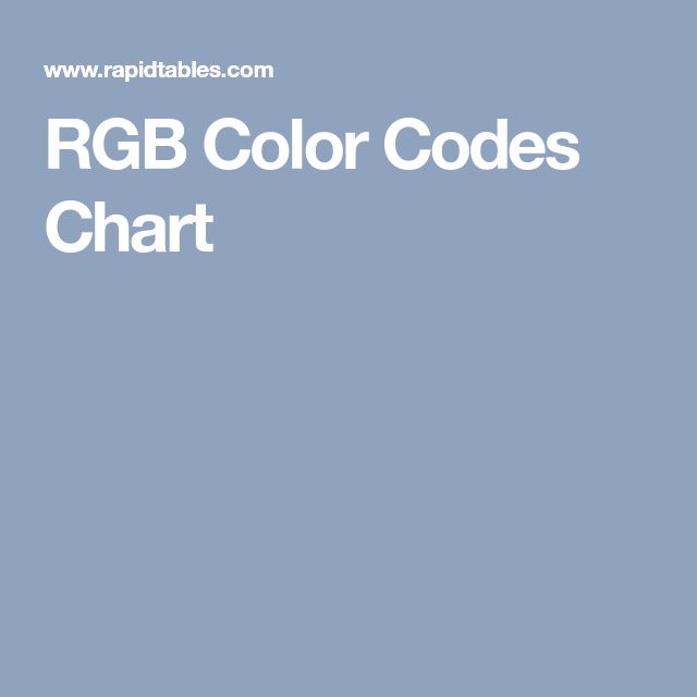 Best  Rgb Picker Ideas On   Rgb Color Picker