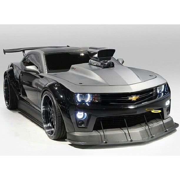 """An Absolute Beast! The Chevrolet Camaro """"Turbo"""" Concept And a Super Charger to boot....BLOWWWWWWWWWWWWWWWWWW"""