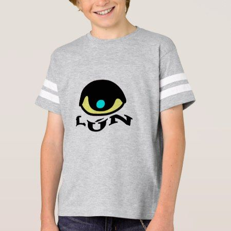 Text in Pijao: lún and a colorful eye T-Shirt - click/tap to personalize and buy