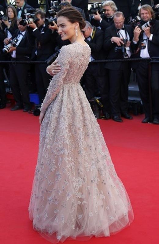 Cansu Dere ve Saadet Işıl Aksoy 66. Cannes Film festivali'nde