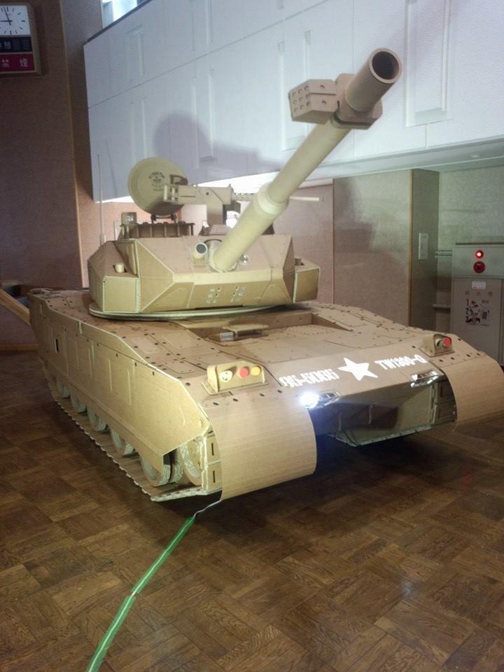 Cardboard Tank!