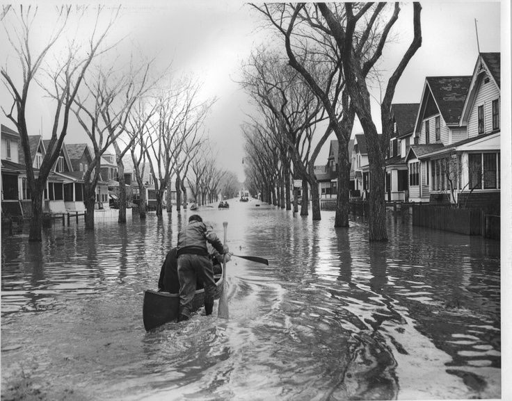 1950 Winnipeg Flood.