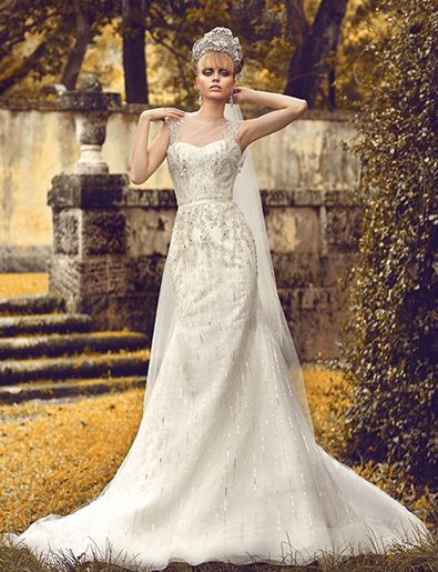 One of Kind Jorge Manuel Wedding Dresses. http://www.modwedding.com/2014/03/22/one-kind-jorge-manuel-wedding-dresses/ #wedding #weddings #fashion