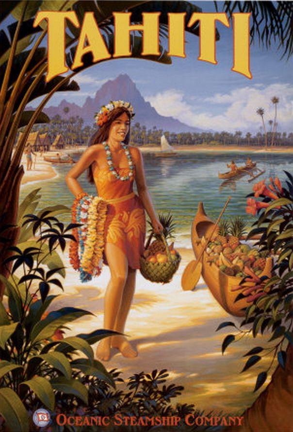 Tahiti • Oceanic Steamship Company                                                                                                                                                     More