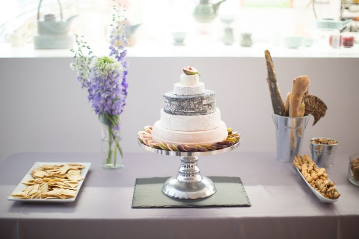 Gardiner Museum wedding cheese cake created by Leslieville Cheese Market