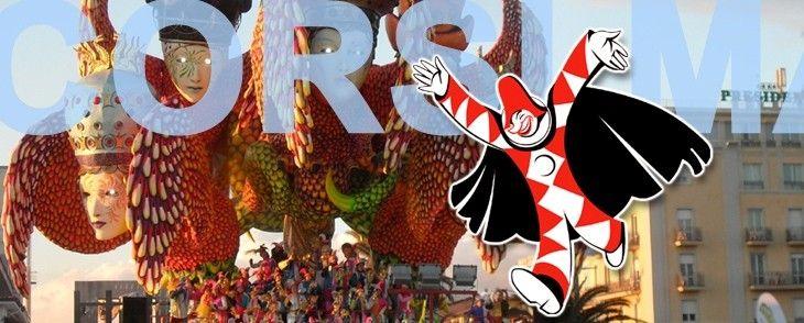 Viareggio, la capitale del Carnevale italiano dà appuntamento ai cinque grandi Corsi Mascherati 2016 sui Viali a mare. Per un mese, la città si trasforma nella fabbrica del divertimento tra sfilate di giganti di cartapesta, feste notturne, spettacoli pirotecnici, veglioni, rassegne teatrali, appuntamenti gastronomici e grandi eventi sportivi mondiali.