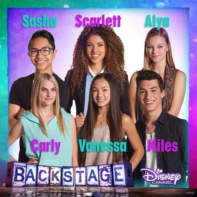 Watch backstage on Disney channel