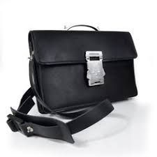 Image result for leather briefcase black