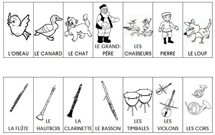 personnages-et-instruments-pierre-et-le-loup.gif (852×536)