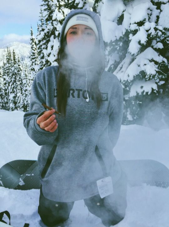 This is an awesome picture for snowboarding season that I'll definitely have one of my friends take of me this winter. It's super creative and shows of the scenery. -Xoxo, Ari