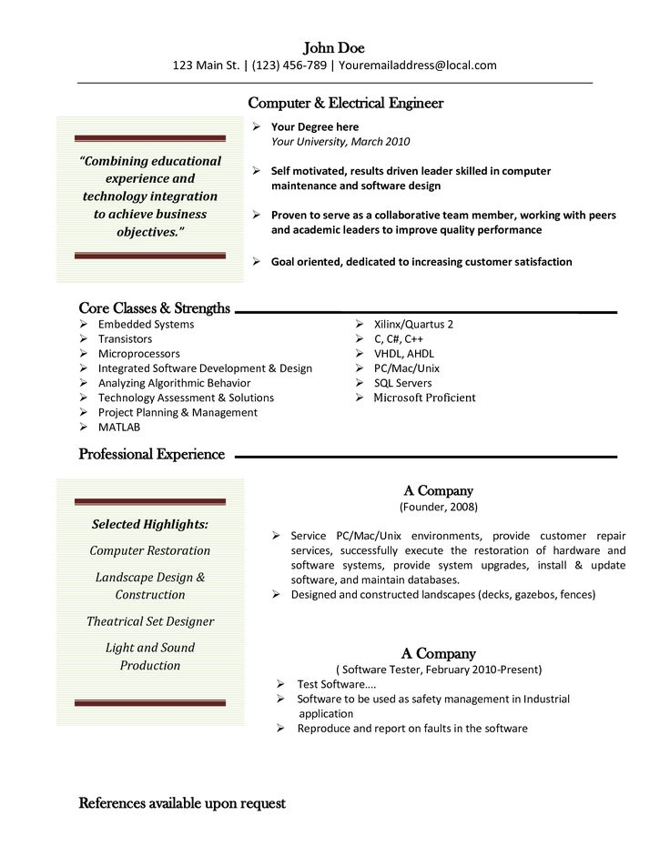 7 best Stuff to Buy images on Pinterest Stuff to buy, Bio data - free resume templates for word 2010