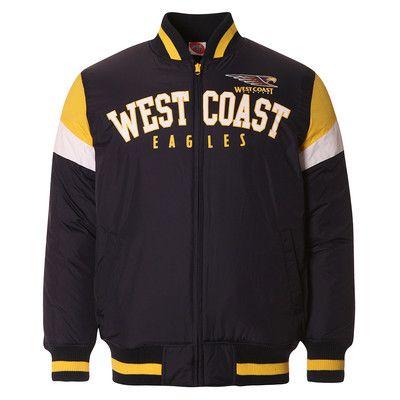 AFL Mens Fan Varsity Jacket West Coast Eagles [Size: S]