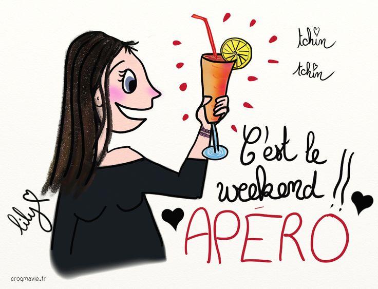 apero, détente, soleil, weekend, croqmavie.fr