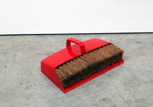 Carl Clerkin, Dustpan and Brush I, 2013, Gallery S O London, London Design Festival