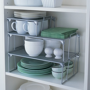Export IKEA the wind minimalist fashion creative Shelves aircraft finishing stackable storage rack dish rack - Taobao