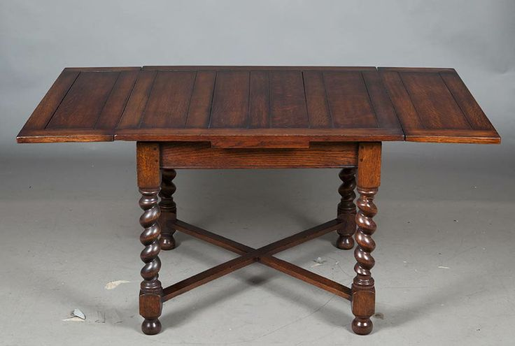 English Antique Oak Draw Leaf Pub Table Tables And Antiques