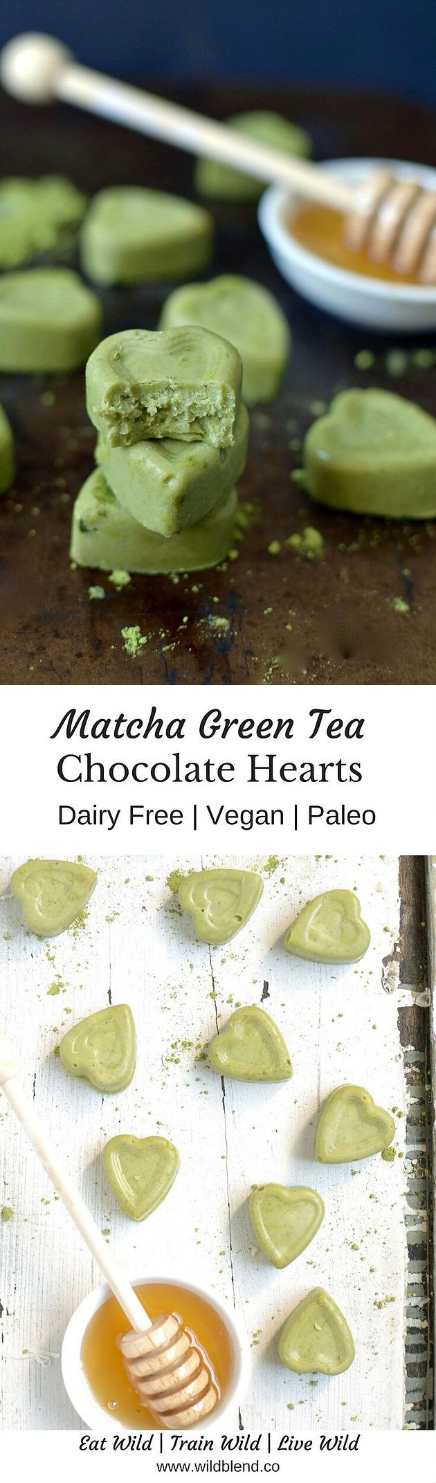 You've probably tried matcha lattes before but have you had matcha chocolate? No? That's ok because it's my frist time also. Let's get into vibrant green, superfood chocolate bursting with 137 times the antioxidants of green tea! Get the recipe here: http://www.wildblend.co/single-post/2016/10/14/Matcha-Green-Tea-Chocolates