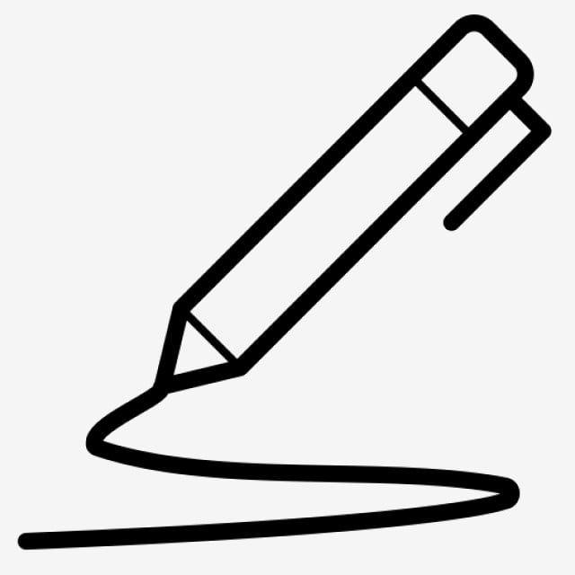 Black Creative Pencil Element Png And Psd Creative Psd Clip Art