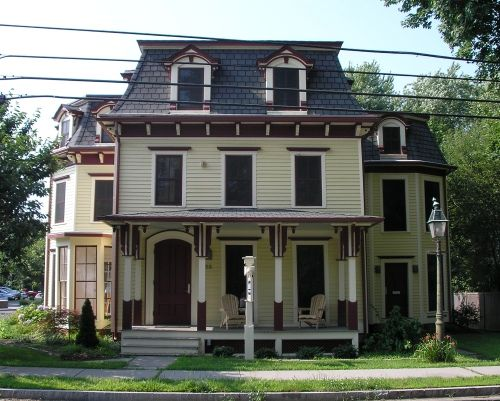 46 best mansard zink roofs and shingles images on for Mansard roof pros and cons