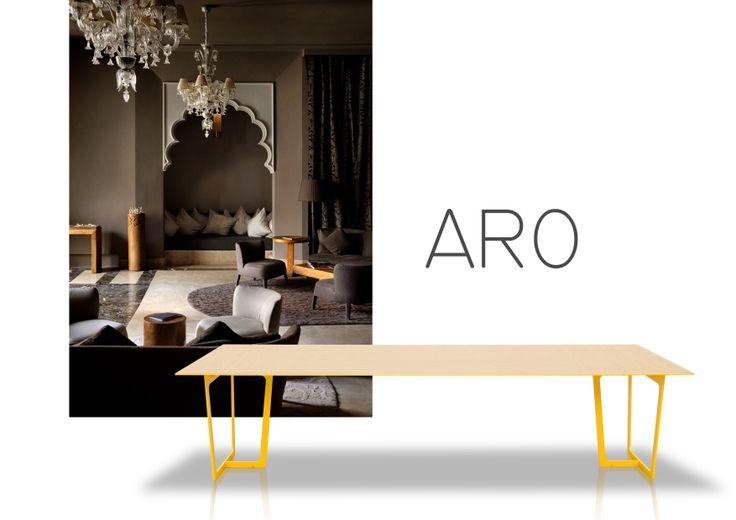 Aro table, the new jmm design. www.jmm.es