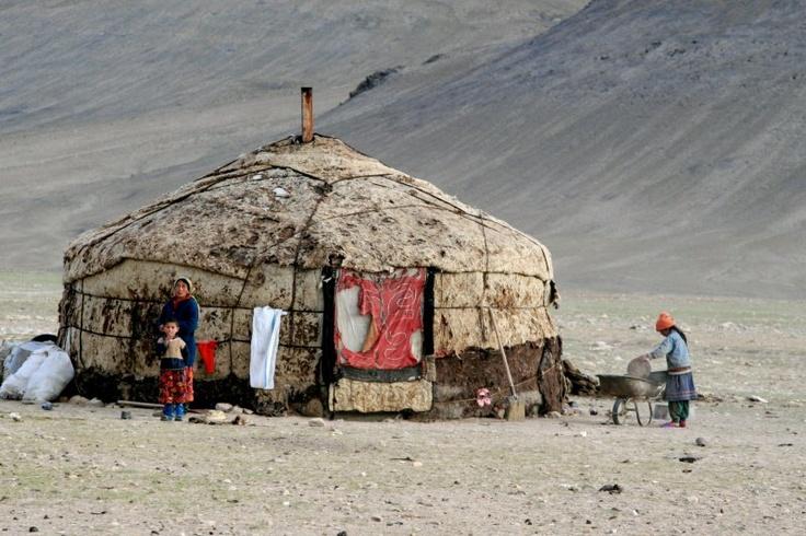Yurt, Rangkul, Tajikistan