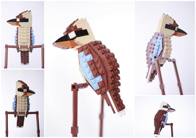 Lego birds of Oceania –in pictures