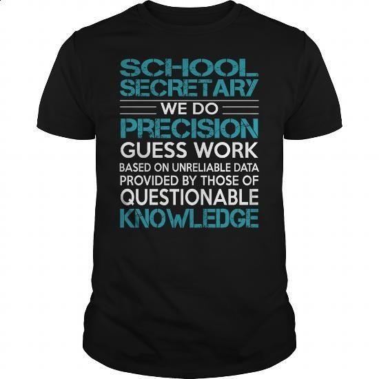 Awesome Tee For School Secretary - #tee shirts #black hoodie mens. ORDER HERE => https://www.sunfrog.com/LifeStyle/Awesome-Tee-For-School-Secretary-100428391-Black-Guys.html?60505