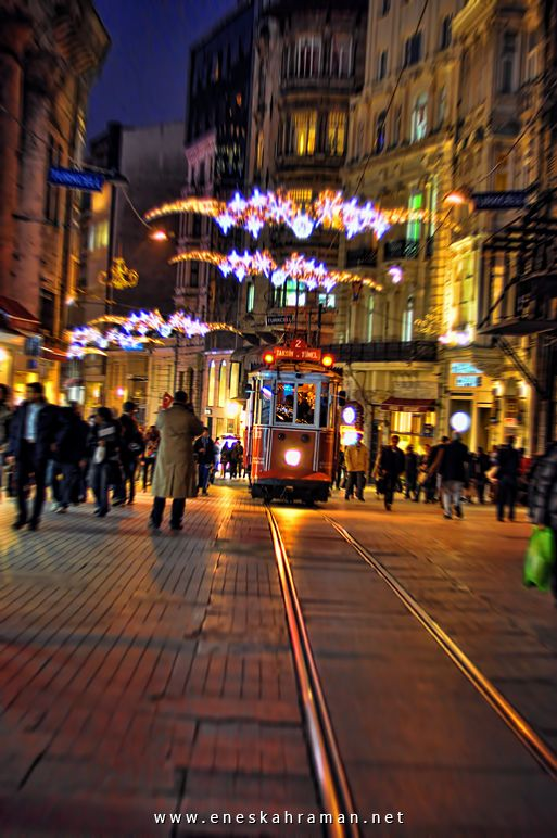 İstiklal Caddesi, Taksim, Istanbul, Turkey