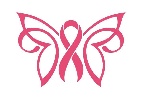 Cancer Awareness Ribbon Decal, Breast Cancer Awareness Ribbon Decal, Pink Ribbon…