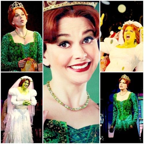 Sutton Foster as Princess Fiona