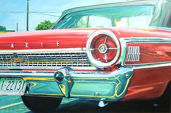 """Ford Galaxy"" painting by Katrina"