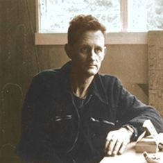 Colin McCahon - the most celebrated New Zealand painter of the 20th Century and arguably New Zealand's greatest artist