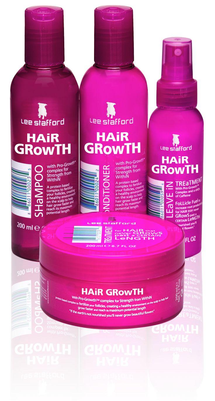 HAiR GRowTH · Lee Stafford · The Hairdresser