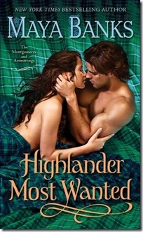 Highlander Most Wanted by Maya Banks a super book for historical romance fanatics