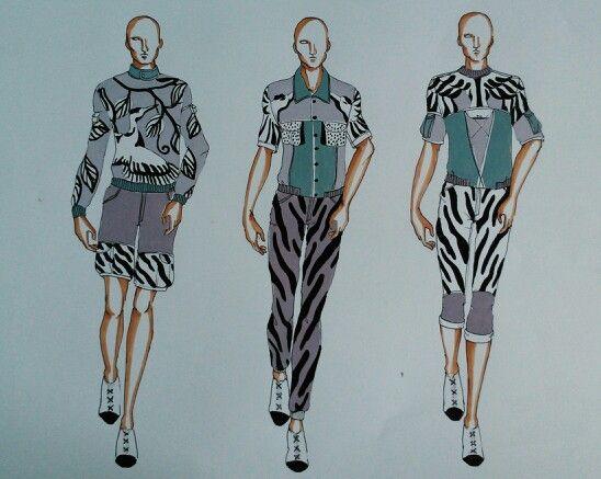 My male illustration #fashionillustration