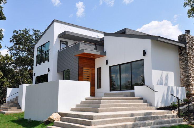 Contemporary Exterior Using Stucco Hardiplank And