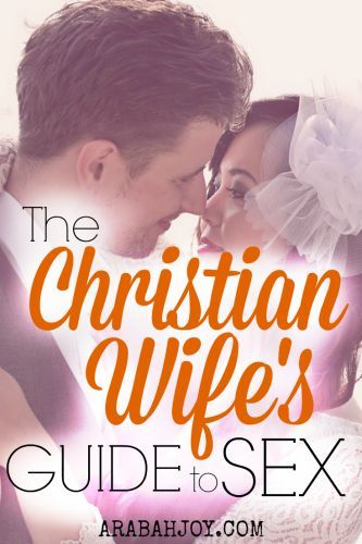 The Christian Wife's Guide to Better Sex. This is a 7 day challenge for Christian wives of all ages!