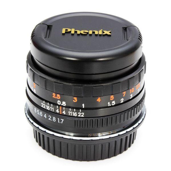Segunda generación de la lente F1.7 phenix 50mm para Canon cámara réflex digital de lente ef