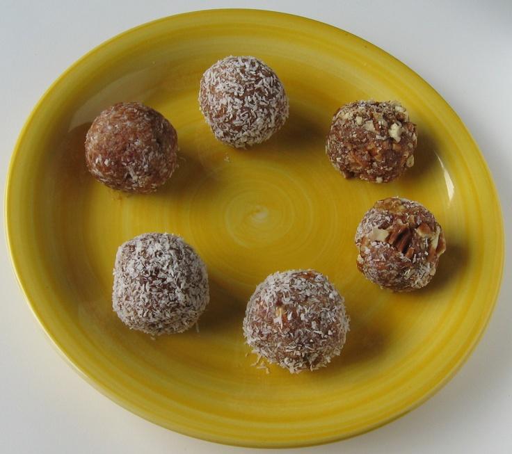 Date Cashew Butter Balls | Recipes To Try | Pinterest
