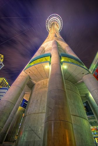Auckland Sky Tower, Auckland, New Zealand