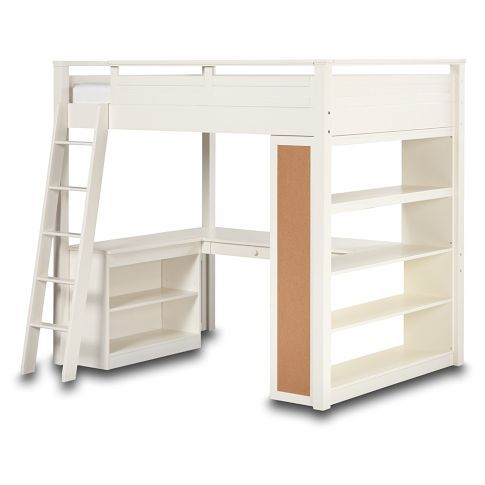 Sleep and Study Loft for the girls room