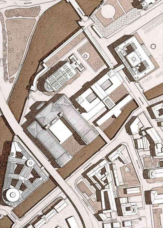 Neues Museum E Completamento Della Museumsinsel, Berlin Germany (1995) | Giorgio Grassi