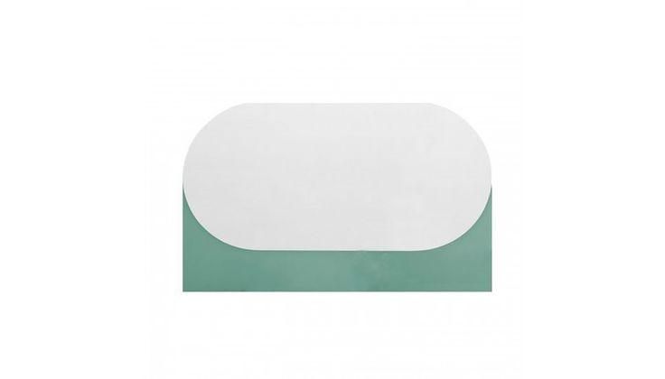 Hay Oblong Mint Green Mirror
