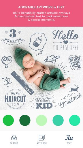 Baby Pics v2.2.1   Baby Pics v2.2.1Requirements:4.1Overview:Capture your precious pregnancy & baby milestone photos by marking them with beautifully crafted artwork & personalized text. Share & treasure forever!  Capture your precious pregnancy & baby milestone photos by marking them with beautifully crafted artwork & personalized text. Share & treasure forever!  Pregnancy Milestones | Baby Milestones | Big Kids Milestones  Baby Pics is a must have for all parents-to-be and new parents. All…