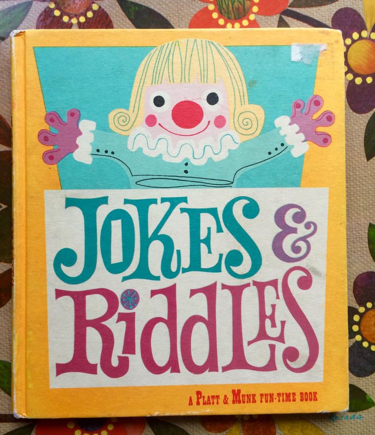 1960s Jokes and Riddles Book by lishyloo on Etsy